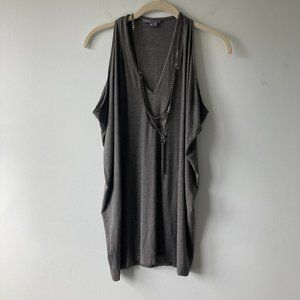 VINCE metal chain top - Size XS